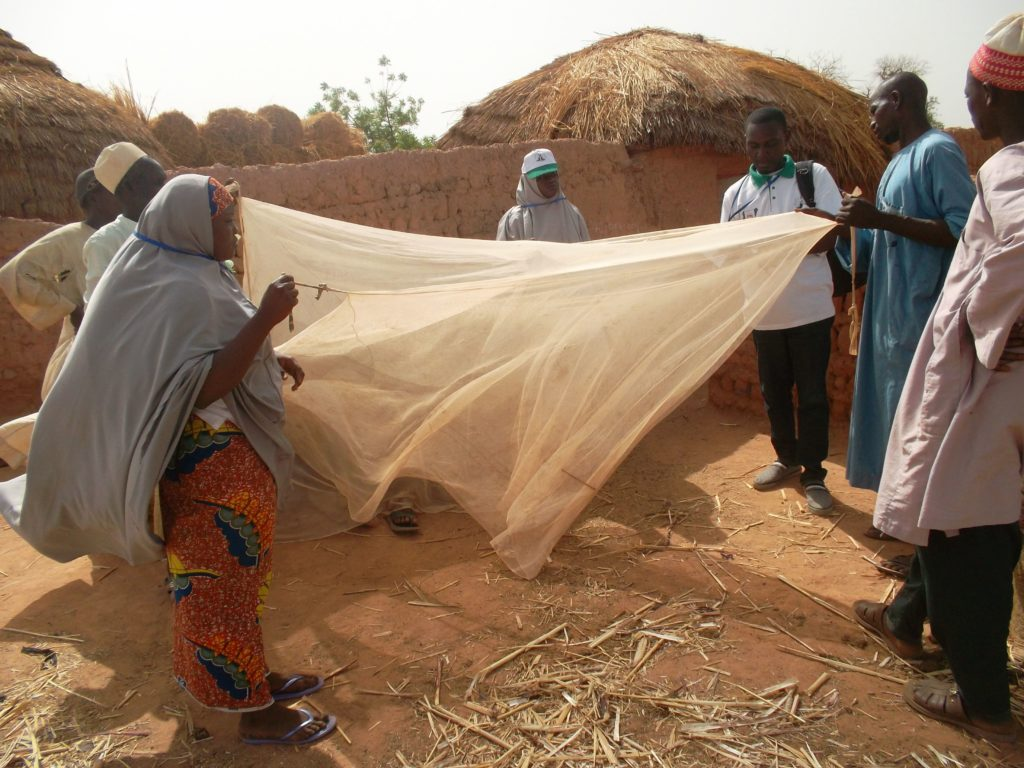Assessing insecticide-treated nets distribution via routine services